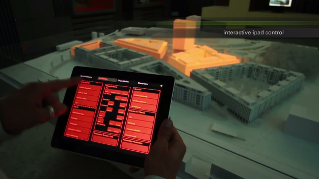 Interaktive Augmented Reality Installation