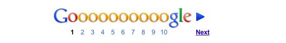 Gooogle pagination