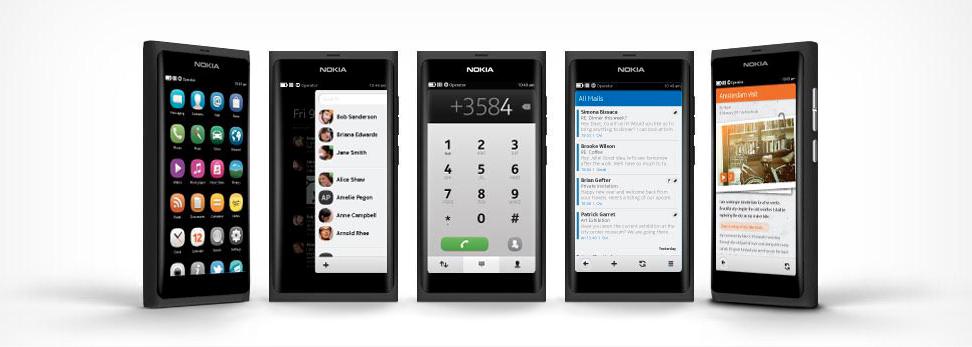 Nokia N9 Interface