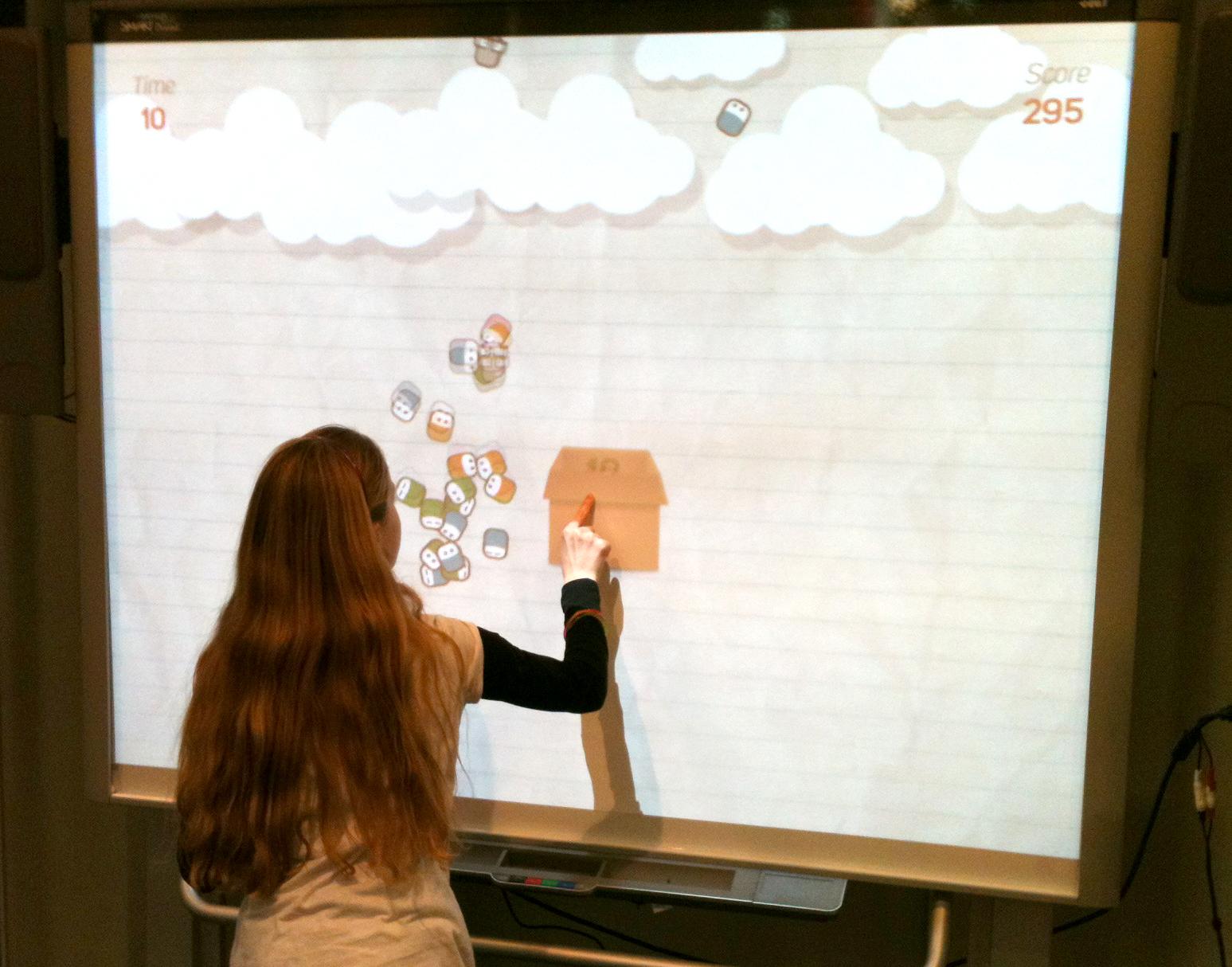 LernCoachies SMART-Board Spiel auf der Didacta