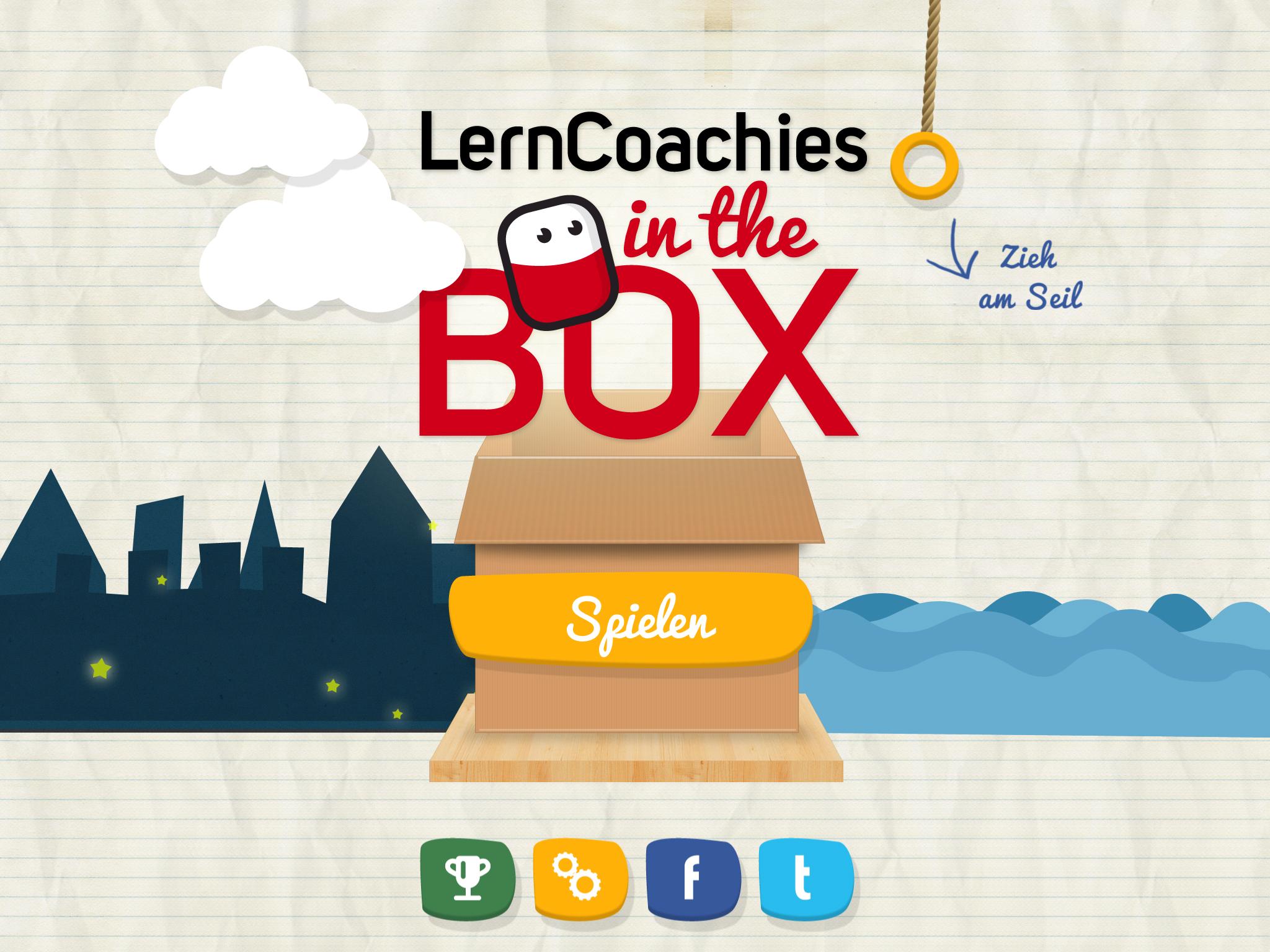 LernCoachies in the Box für Android- und iPhone-Nutzer