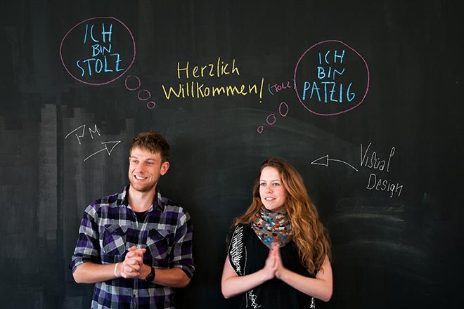 Willkommen im Team Nadine und Andreas!