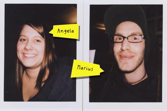 Brand new interns … Angela und Marius!