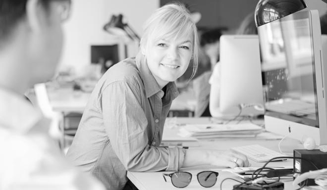 Katja Wenger in der Jury des Wettbewerbs Gute Gestaltung des DDC