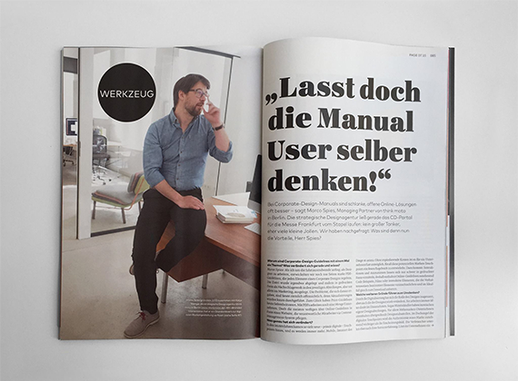 Beitrag von Marco Spies in der Page über CD-Manuals